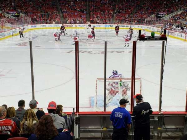 PNC Arena, section: 112, row: K, seat: 1 and 2