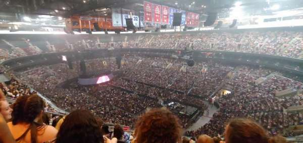 Wells Fargo Center, section: 204, row: 12, seat: 7