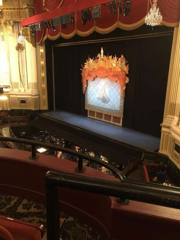 Citizens Bank Opera House, section: Dress circle, row: BB, seat: 42