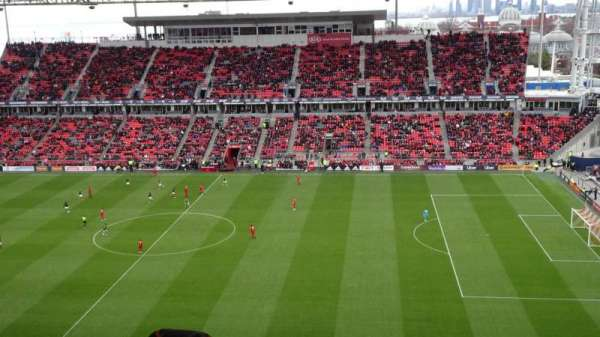 BMO Field, section: 206, row: 21, seat: 31
