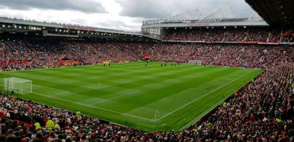 Old Trafford, section: E239, row: 22, seat: 6