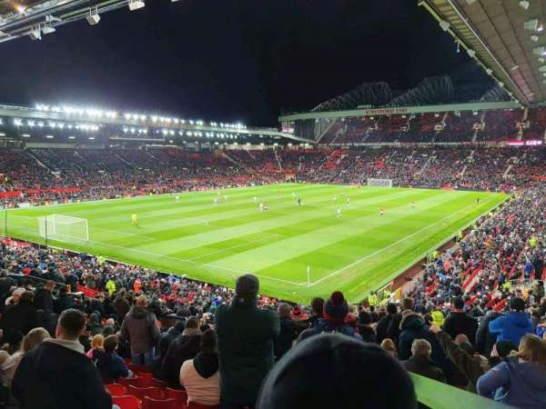 Old Trafford, section: E239, row: 22, seat: 7