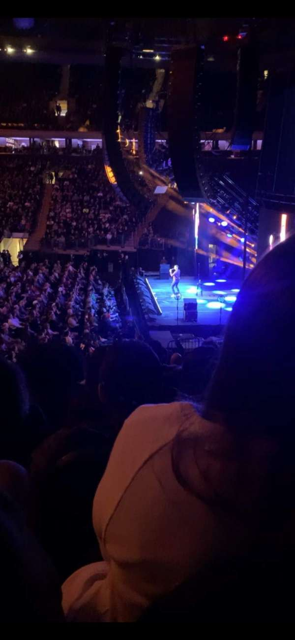 Madison Square Garden, section: 109, row: 18, seat: 7