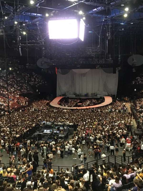 AccorHotels Arena, section: Balcon A, row: Rang 2, seat: 21