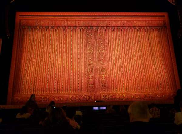 Hippodrome Theatre, section: Center Orchestra, row: J, seat: 107