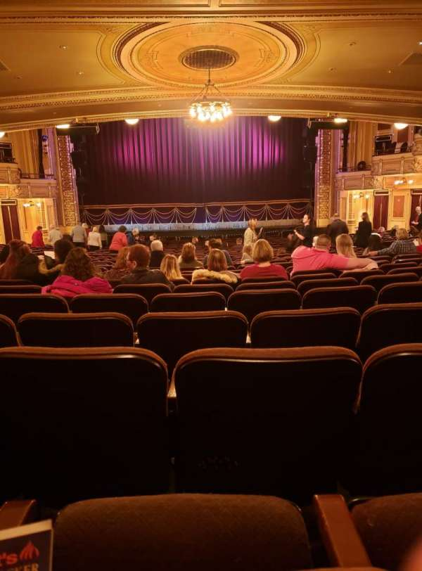 Hippodrome Theatre, section: Center Orchestra, row: CC , seat: 108-109