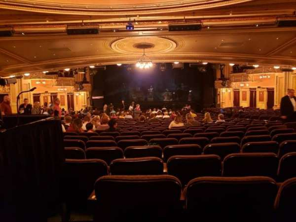 Hippodrome Theatre, section: Center Orchestra, row: FF, seat: 113
