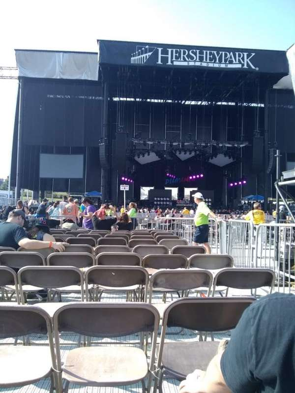 Hershey Park Stadium, section: E, row: 11, seat: 3