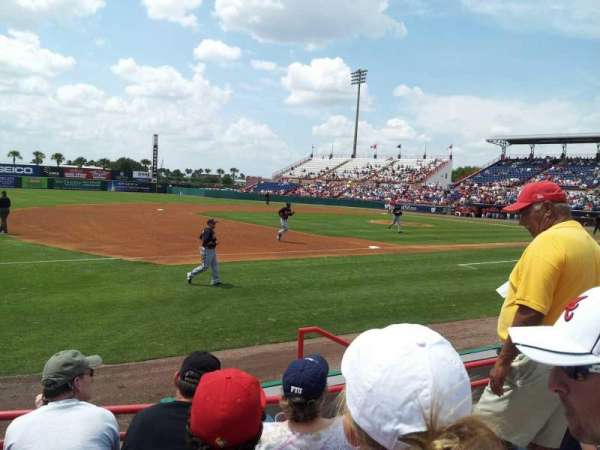 USSSA Space Coast Complex, section: 103, row: 4, seat: 5