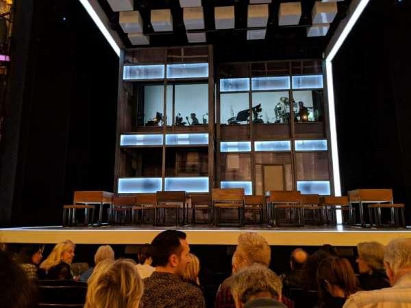 Apollo Theatre, section: STALLS, row: H, seat: 11