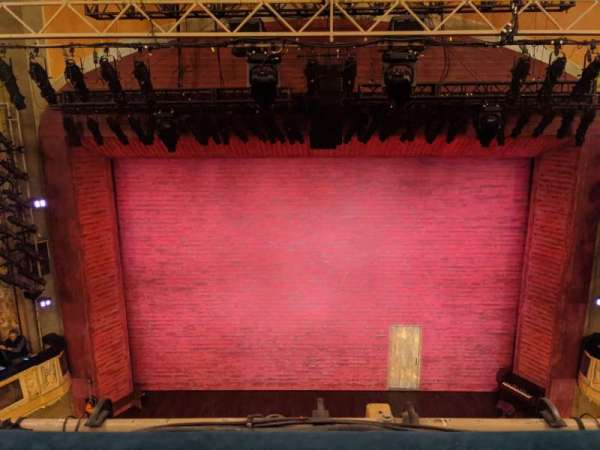 Shubert Theatre, section: Balcony C, row: A, seat: 108