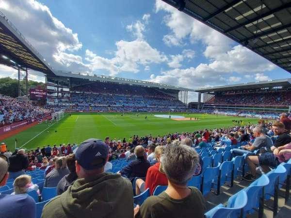 Villa Park, section: M5, row: U, seat: 203