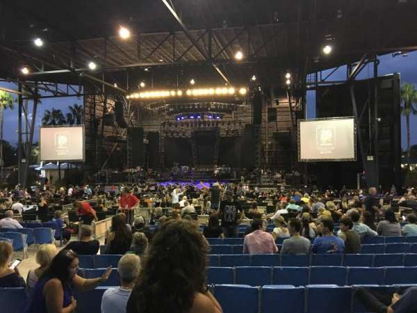 iThink Financial Amphitheatre, section: 5, row: V, seat: 6