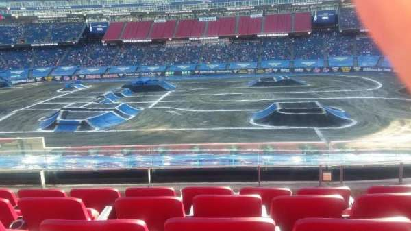 Gillette Stadium , section: CL8, row: 5, seat: 12
