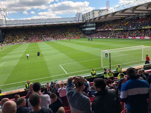 Vicarage Road, section: Vrs2, row: D, seat: 62