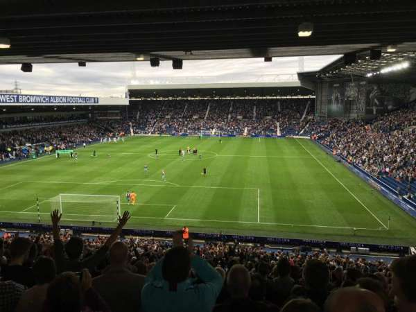 The Hawthorns, section: A2, row: Xx, seat: 29