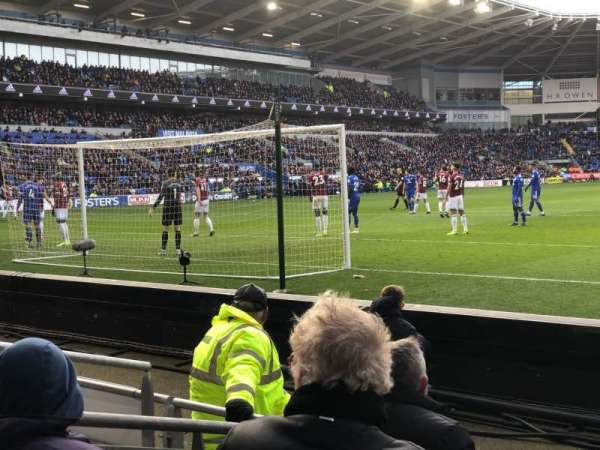 Cardiff City Stadium, section: 123, row: D, seat: 159