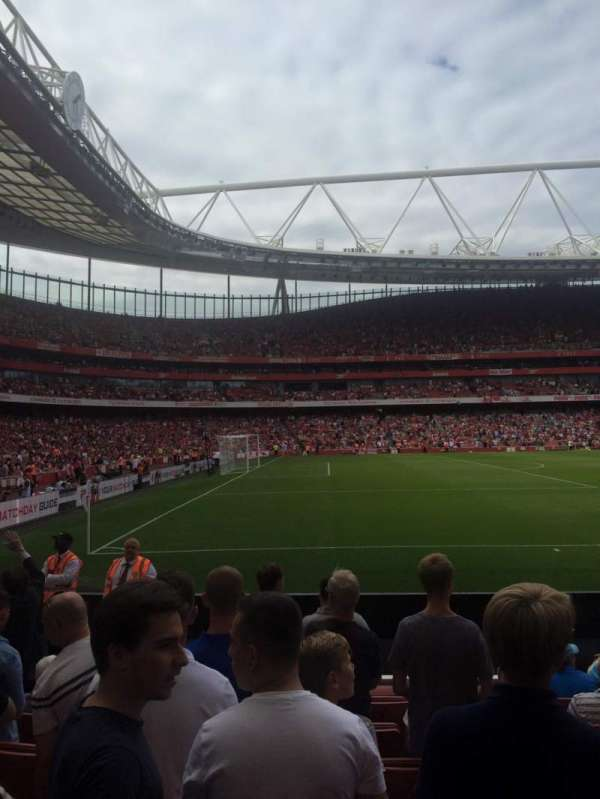 Emirates Stadium, section: 20, row: 8, seat: 602