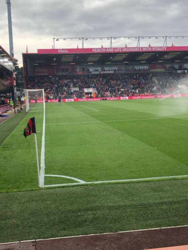 Vitality Stadium, section: 24, row: B, seat: 235