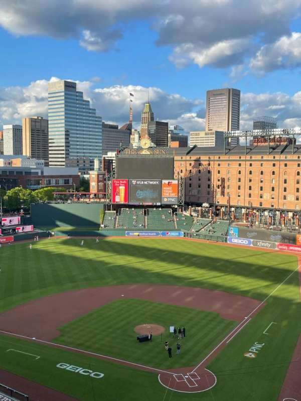 Oriole Park at Camden Yards, section: 342, row: 17, seat: 7