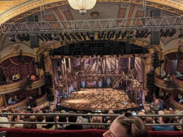 Richard Rodgers Theatre, section: Rear Mezzanine C, row: H, seat: 104