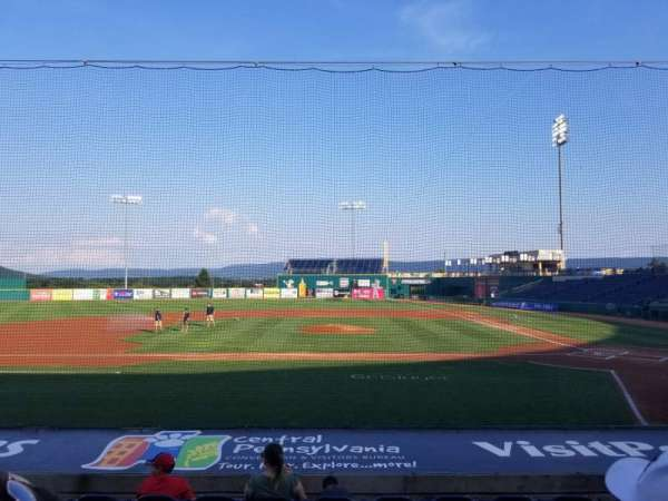 Medlar Field at Lubrano Park, section: 102, row: 8, seat: 12
