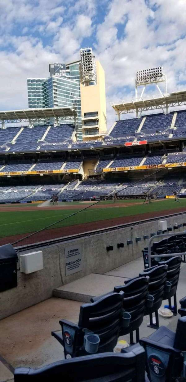 PETCO Park, section: 120, row: 5, seat: 2 & 3