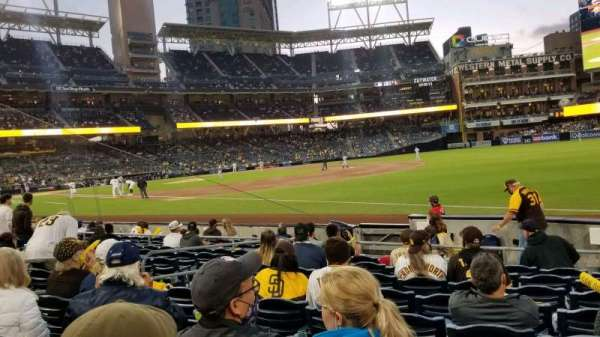PETCO Park, section: 117, row: 12, seat: 8
