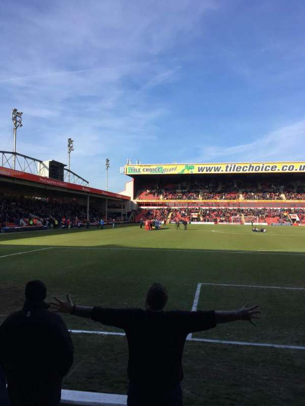 Bescot Stadium, section: University of Wolverhampton, row: C, seat: 92