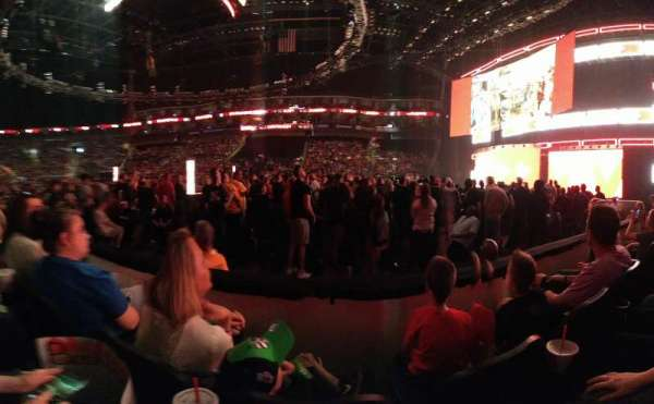 Sprint Center, section: 116, row: 2, seat: 10