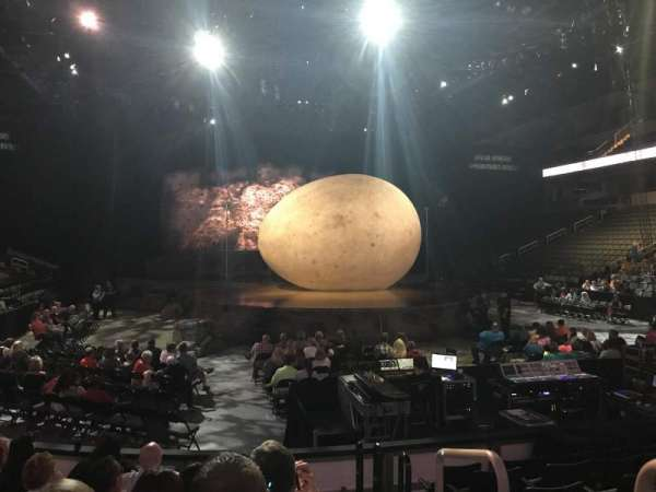 Huntington Center, section: 102, row: H, seat: 1