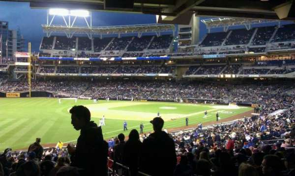 PETCO Park, section: 122, row: 42, seat: 1