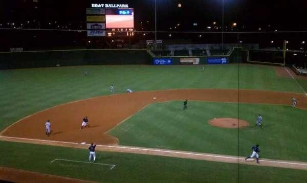 BB&T Ballpark (Winston-Salem), section: 111