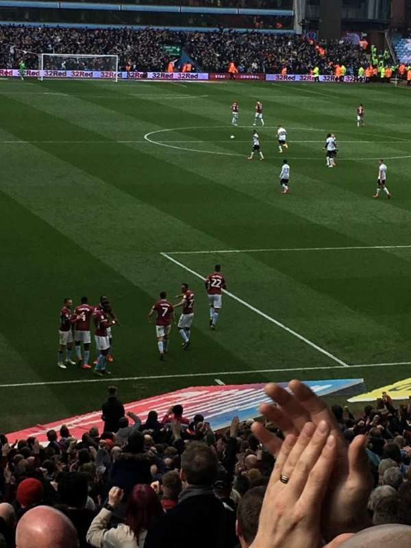 Villa Park, section: L8, row: MM