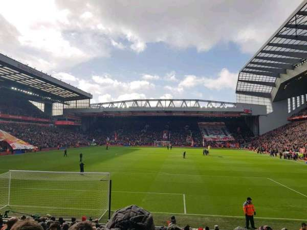 Anfield, section: 124, row: 18, seat: 88