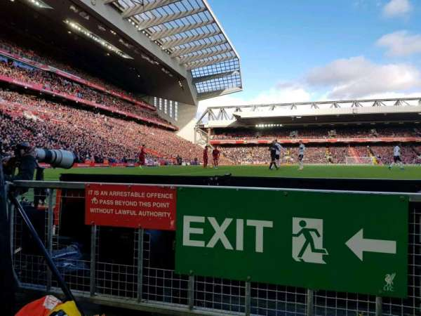 Anfield, section: 104, row: 1, seat: 142