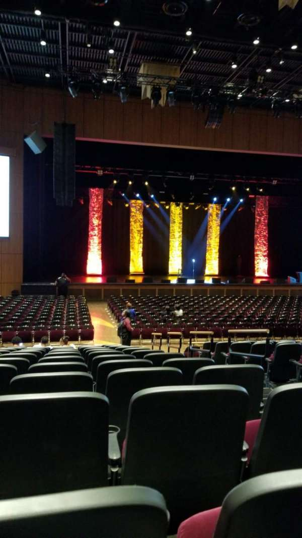 The Theater at MGM National Harbor, section: 104, row: M, seat: 3