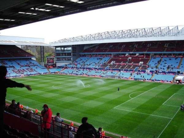 Villa Park, section: P10, row: MM, seat: 18