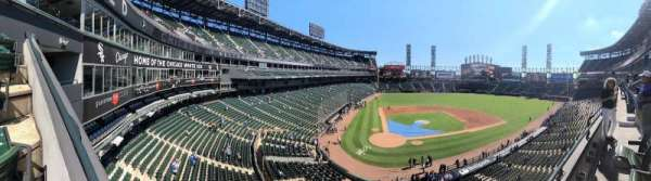 Guaranteed Rate Field, section: 329, row: 1, seat: 6