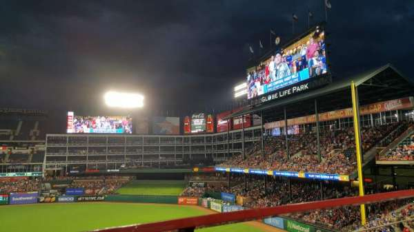 Globe Life Park in Arlington, section: 237, row: 1, seat: 2