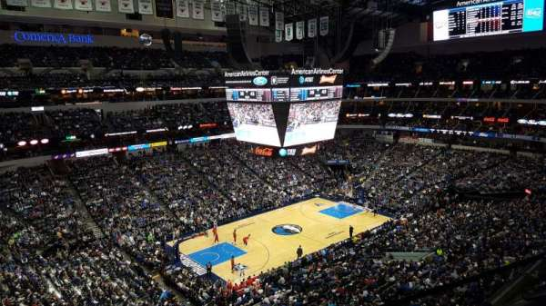 American Airlines Center, section: 330, row: A, seat: 6