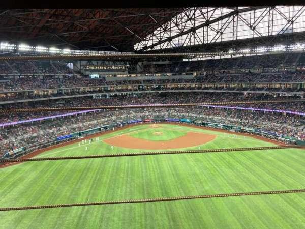 Globe Life Field, section: 239, row: 1, seat: 19