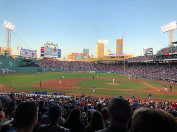 Fenway Park, section: Grandstand 25, row: 6, seat: 11