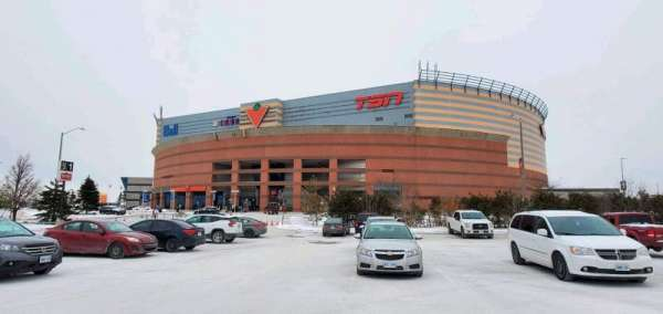 Canadian Tire Centre, section: 117, row: K, seat: 8