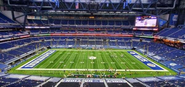 Lucas Oil Stadium, section: 513, row: 5