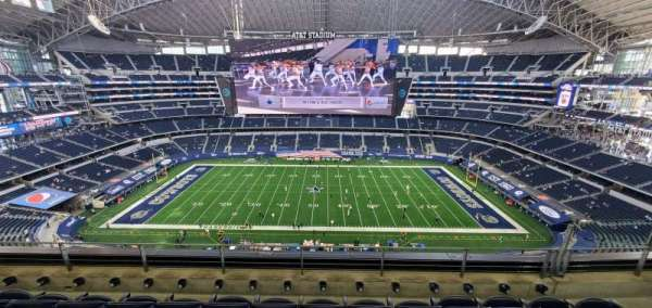 AT&T Stadium, section: 443, row: 4, seat: 12