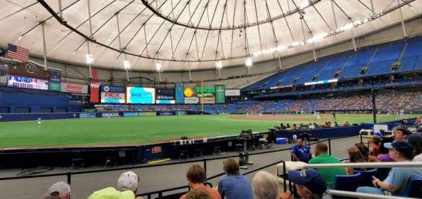 Tropicana Field, section: 131, row: K, seat: 8