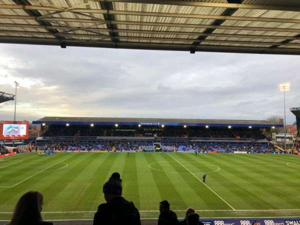 St Andrew's Stadium, section: International Suite, row: 6, seat: 53