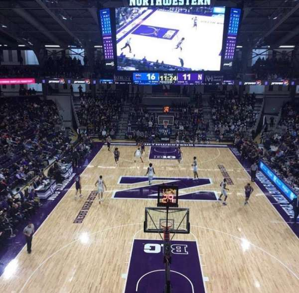 Welsh-Ryan Arena, section: 214, row: 3, seat: 6