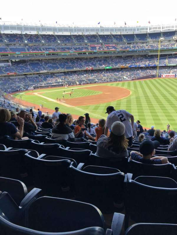 Yankee stadium, section: 210, row: 19, seat: 4